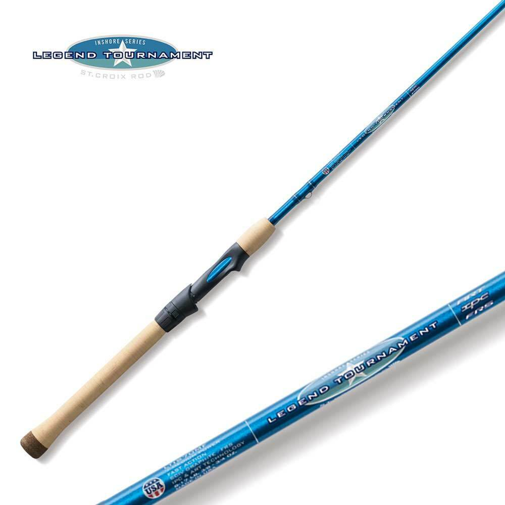 St Croix Legend Tournament Inshore Spinning Rod LTIS70MHF 7'0