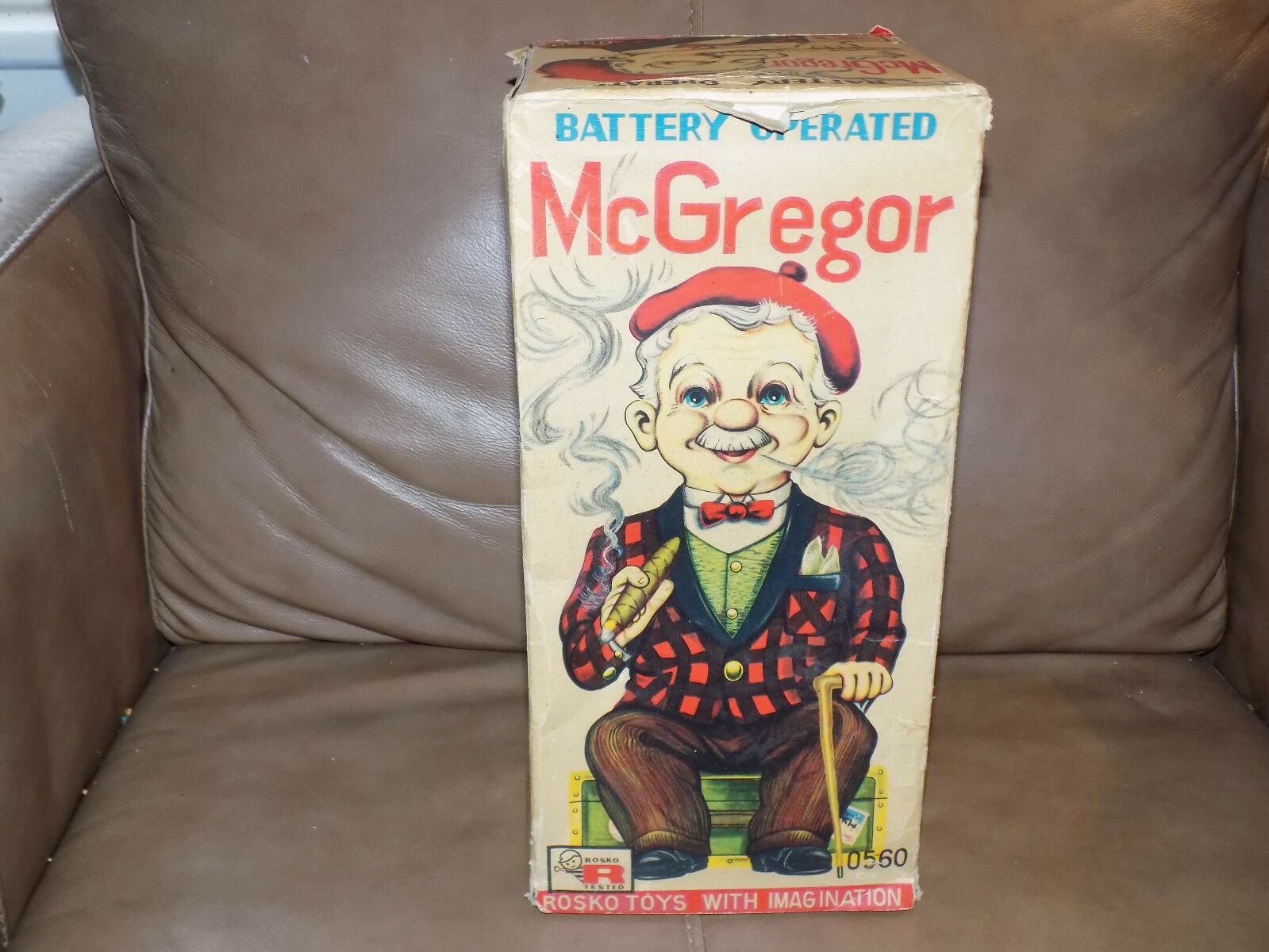 McGregor Battery Operated Toy by Rosko in the Box WORKS