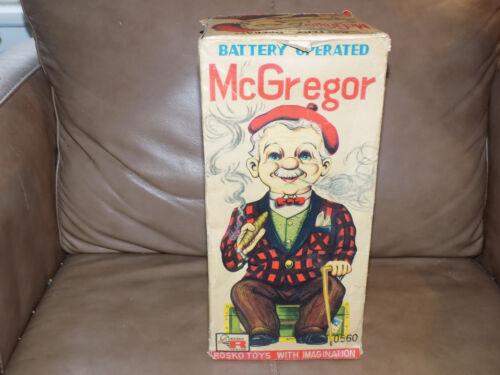 McGregor Battery Operated Toy by Rosko in the Box WORKS! Alle Artikel in Elektrisches Spielzeug