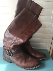 Frye 4001 Womens Boots Tall Brown