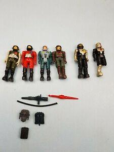 Figurines Starcom du millésime 1980 avec le capitaine Pete Yablonsky Cpl.   Storn & Accessoires