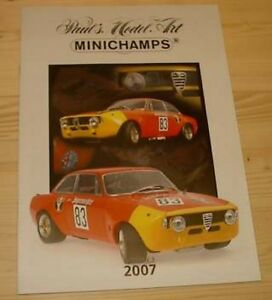 Katalog-Minichamps-2007-Edition-3-Neu