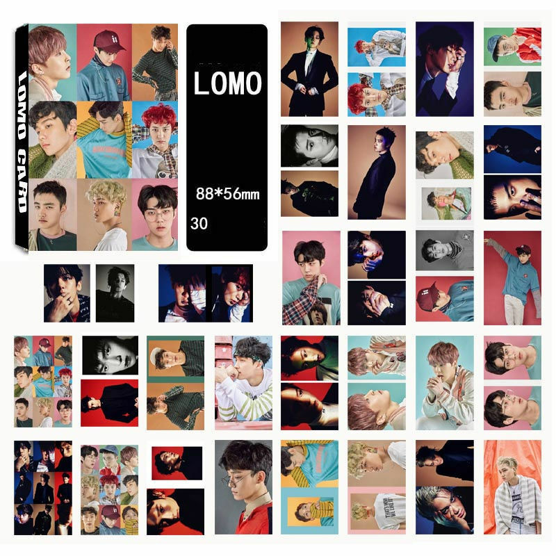 Beads & Jewelry Making Jewelry Findings & Components New Fashion Kpop Exo Album Chanyeol Lomo Cards K-pop New Fashion Self Made Paper Photo Card Hd Photocard