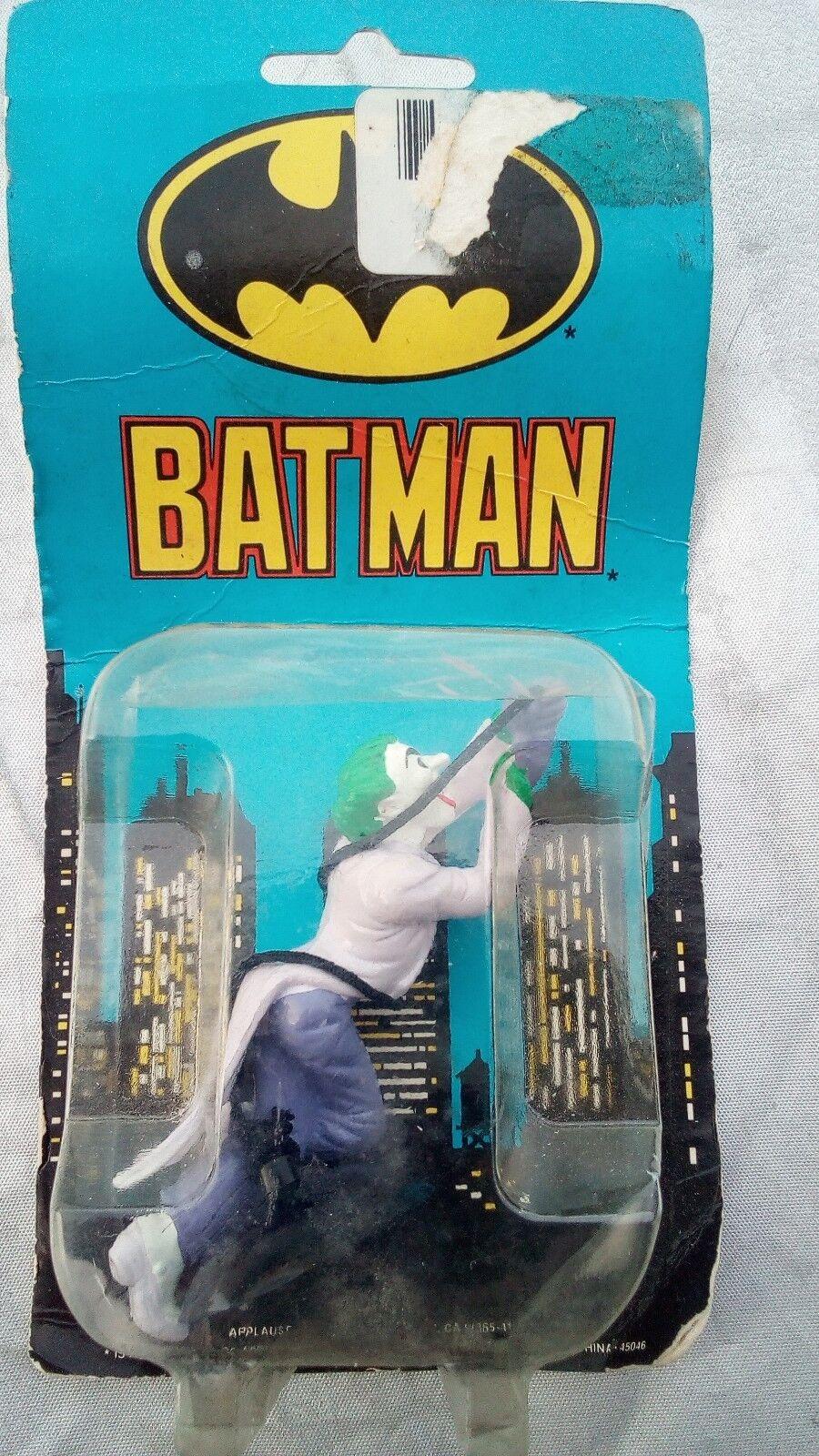 Vintage 1989 Batman, Joker Suction Cup Holder Dc Comics Rare Sealed