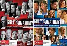 Grey's Anatomy Season 7 & 8 : NEW DVD