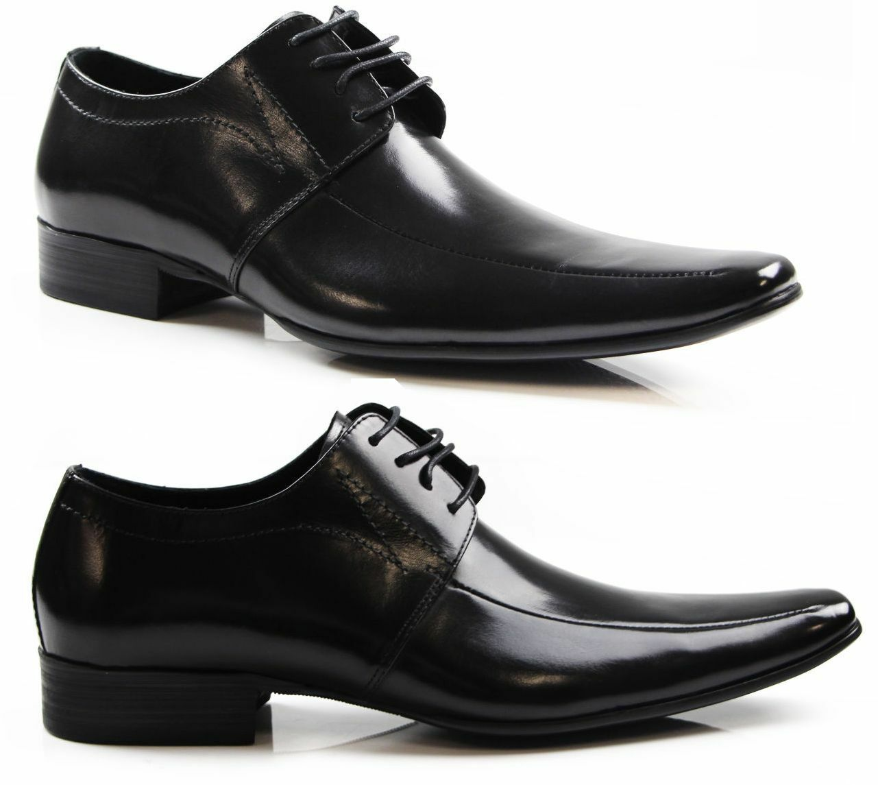 Herren ZASEL CHASE DRESS BLACK LACE UP FORMAL DRESS CHASE WORK CASUAL LEATHER Schuhe cfd80c