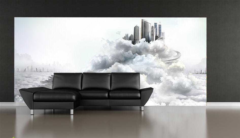 3D In den Himmel schönheit346 Fototapeten Wandbild Fototapete BildTapete Familie
