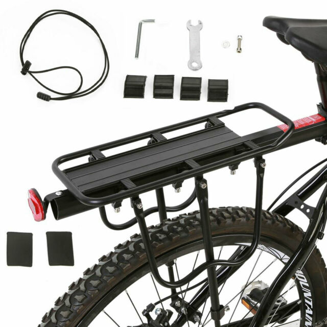 Accessories Bike Rear Seat Cargo Rack Luggage Carrier Aluminum Alloy