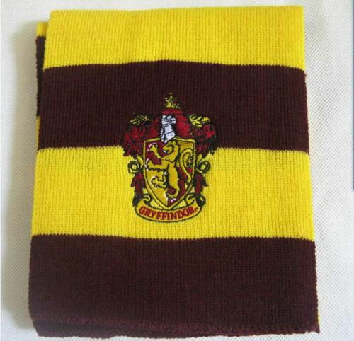 Harry Potter Scarf Hat Tie Gryffindor Slytherin Ravenclaw Hufflepuff Book Week