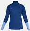 Under-Armour-UA-HeatGear-Womens-Locker-1-2-Zip-Long-Sleeve-Pullover-1309958 thumbnail 5