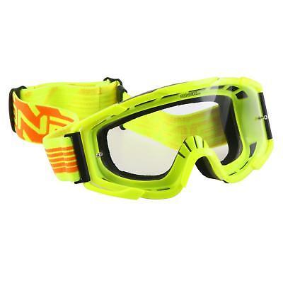 Oneal B2 Mx Occhiali Goggle Giallo Neon Motocross Enduro Moto Mountain Bike Mtb-