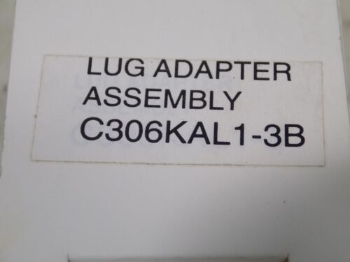 CUTLER-HAMMER LUG ADAPTER ASSEMBLY C306KAL1-3B NIB