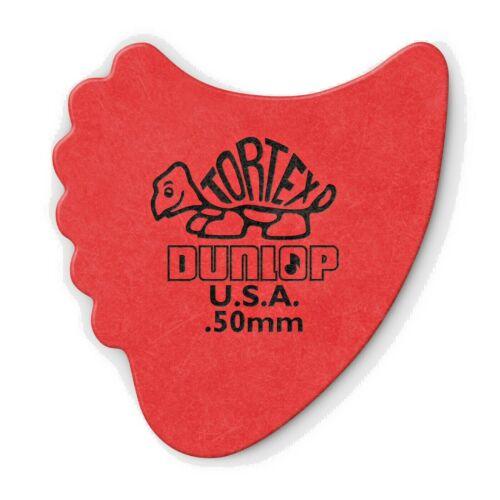DUNLOP TORTEX FIN GUITAR PICK .50mm 72 PACK 414R50  NEW
