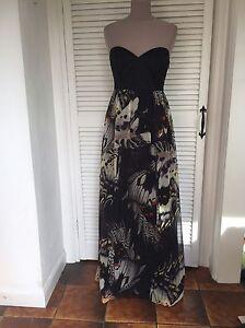 Bustier maxi dress uk