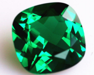Beauty Natural Mined 10x10mm Green Emerald Gems Square Cut AAAAA Loose Gems