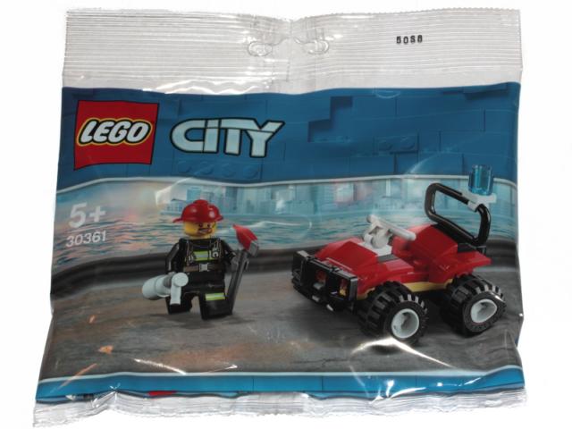 Lego City Fire ATV Polybag (30361) Fireman Pompier Minifigure Figurine New
