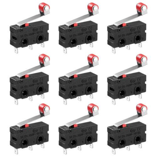Endschalter Micro Mini Mikrotaster 3D Drucker Öffner Schließer rollen