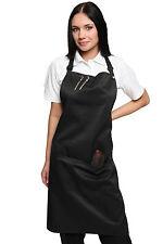 Hairdressers beauty salon beautician nail bar spa adjustable safety apron black