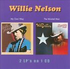 My Own Way/The Minstrel Man by Willie Nelson (CD, Sep-2011, Wounded Bird)