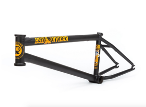 BSD Raiders V3 21.9 Plano Negro Marco de Bicicleta BMX David Grant Sig 21.9  bicicletas