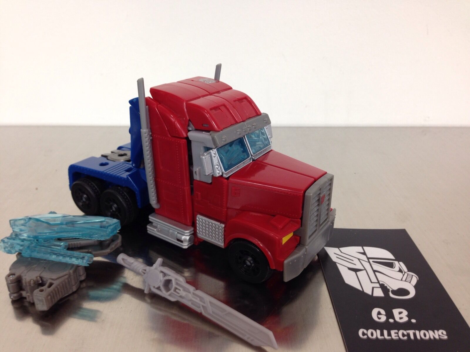 Transformers Prime RID Optimus Prime Voyager Class 100% Complete