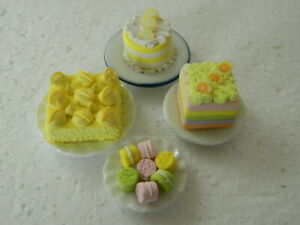 Dollhouse Miniature FOOD Ketchup Mustard Set 1:12 inch scale Dollys Gallery K69