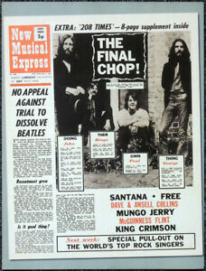 THE-BEATLES-POSTER-PAGE-NME-1-MAY-1971-FRONT-COVER-THE-FINAL-CHOP-O8