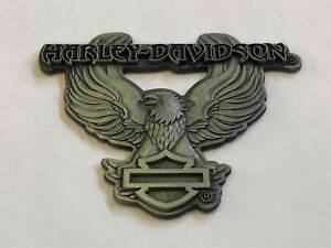 "Vintage, Rétro Harley-davidson Moto "" Aimant "" "" Rare """