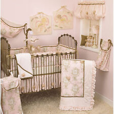 Cotton Tale Designs Lollipops and Roses 6pc Crib Bedding Set Nursery Baby NEW