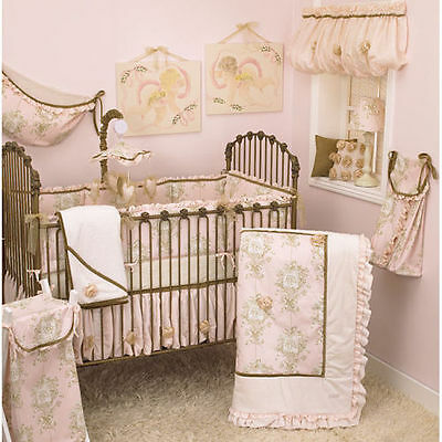 Cotton Tale Designs Lollipops And Roses 6pc Crib Bedding