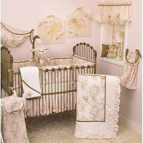 Tea Party 8pc Crib Bedding Set