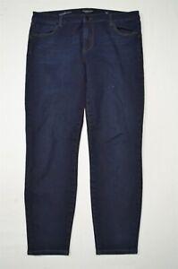 Liverpool-14-32-Hugger-Ankle-Skinny-Dark-Wash-Stretch-Denim-Jeans