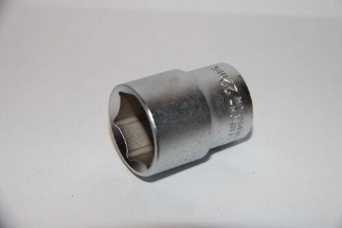 """INDUSTRIAL Chrome Vanadium Steckschlüsseleinsatz 22 mm Nuss Stecknuss 1//2/"""" NEU"""