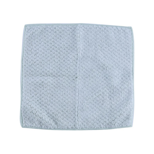 Coral Fleece Absorbent Sink Anti-scald Non-stick Oil Cleaning Cloth Hand Towel S