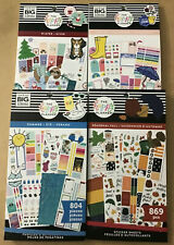 Happy Planner Winter Spring Summer Amp Fall Set Of 4 Seasons Value Pack Stickers