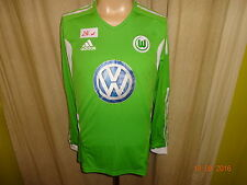 "VfL Wolfsburg Adidas Formotion Langarm Matchworn Trikot 2011/12 ""VW"" Gr.M Neu"