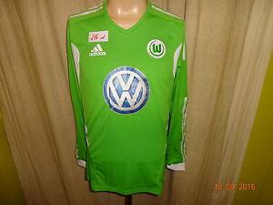 VfL-Wolfsburg-Adidas-Formotion-Langarm-Matchworn-Trikot-2011-12-034-VW-034-Gr-M-Neu