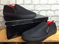Glorious Gangsta Mens Uk 11 Black Red Python Shoes £59.99