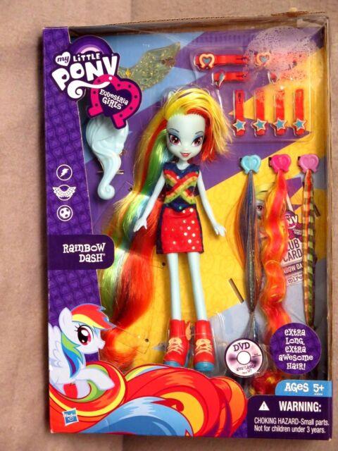 My Little Pony Equestria Girls Rainbow Dash Hairstyling Doll For Sale  Online EBay