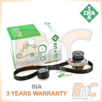 FIAT Timing Belt /& Water Pump Kit Set INA 04892695AB 55204538 71771575 Quality
