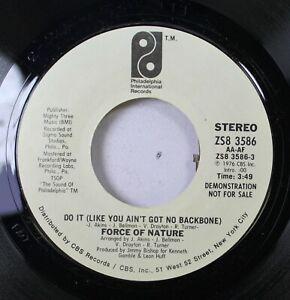 Hear-Modern-Soul-Promo-45-Force-Of-Nature-Do-It-Like-You-Ain-039-T-Got-No-Backbo
