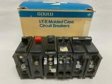 Lot Of 5 Circuit Breakers Assorted Brands And Sizes Gould Ge Bryant As Is