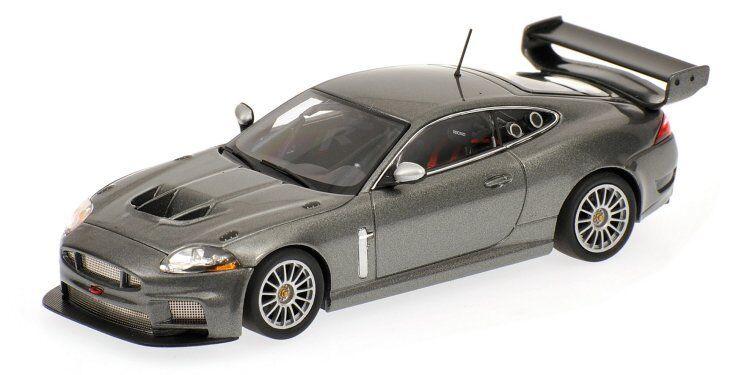 Jaguar XKR Gt3 2008 gris 1 43 Model 400081390 MINICHAMPS