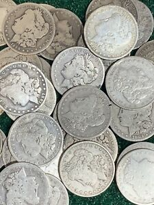 1878-1899-PRE-1900-Silver-Morgan-Dollar-Rare-US-Old-Antique-Coin-Lot