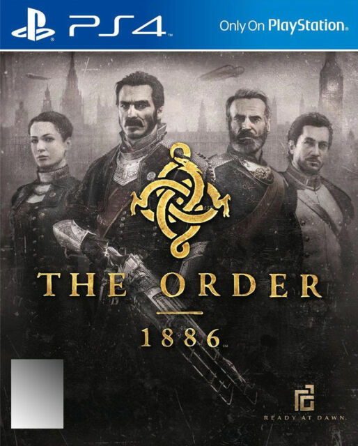 The Order 1886 PS4 PLAYSTATION 4 LIKE NEW