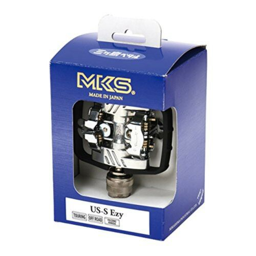 US-S MKS pedal two holes cleat duplex binding Aluminum 112-060 F//S