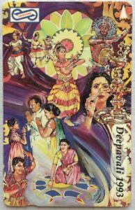 Malaysia-Used-Phone-Cards-Deepavali-1993
