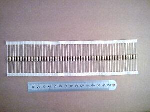 50-pcs-0-5-Watt-Carbon-Film-Resistor-Fifty-0-5W-Resistors-100-Ohm-to-8K2-Range