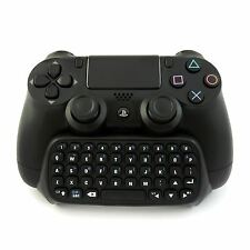 Wireless Bluetooth Black Mini Keyboard Chat Internet for PS4 Slim Pro Controller