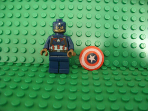 NEW Lego Captain America minifig Age of Ultron comes with shield
